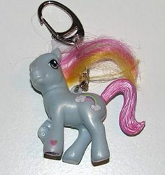 Size: 295x312 | Tagged: safe, photographer:tradertif, rainbow dash (g3), g3, keychain, merchandise