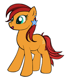 Size: 1024x1024 | Tagged: safe, artist:titus16s, oc, oc only, oc:adagio melody, earth pony, pony, ear piercing, earring, jewelry, piercing, simple background, transparent background