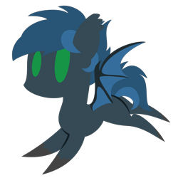 Size: 2100x2100 | Tagged: safe, artist:showtimeandcoal, oc, oc only, oc:bandit, bat pony, hippogriff, pony, cat burb, chibi, commission, cute, icon, simple background, solo, transparent background, ych result