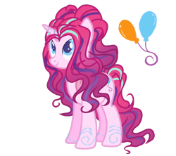 Size: 1024x910 | Tagged: safe, artist:misscupcake333, artist:princesssnowofc, oc, oc only, unicorn, base used, female, magical lesbian spawn, mare, offspring, parent:pinkie pie, parent:starlight glimmer, simple background, solo, transparent background