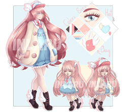 Size: 1800x1600 | Tagged: safe, artist:inlaru, oc, oc only, human, adoptable, auction, auction open, chibi, humanized, reference, reference sheet, simple, simple background, watermark