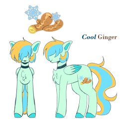 Size: 3055x3065 | Tagged: safe, artist:tuzz-arts, oc, oc:cool ginger, pegasus, pony, chest fluff, choker, colored hooves, colored wings, colored wingtips, femboy, hair over eyes, lipstick, male, multicolored hair, simple background, solo, transparent background, trap, wings