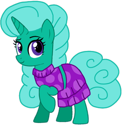 Size: 1048x1070 | Tagged: safe, artist:徐詩珮, glitter drops, pony, unicorn, series:sprglitemplight diary, series:sprglitemplight life jacket days, series:springshadowdrops diary, series:springshadowdrops life jacket days, alternate universe, base used, clothes, cute, mean glitter drops, simple background, transparent background