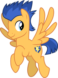 Size: 1280x1728 | Tagged: safe, artist:cloudyglow, flash sentry, pegasus, the last problem, .ai available, flying, looking back, male, simple background, smiling, solo, stallion, transparent background, vector