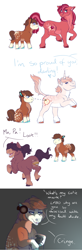 Size: 2000x6112 | Tagged: safe, artist:uunicornicc, oc, oc:apple chip, oc:cherry apple, oc:cinnamon apple, oc:mint chiffon, earth pony, pony, colt, controller, headphones, joystick, magical lesbian spawn, male, offspring, parent:applejack, parent:big macintosh, parent:cheerilee, parent:rarity, parent:sugar belle, parents:cheerimac, parents:rarijack, parents:sugarmac, stallion
