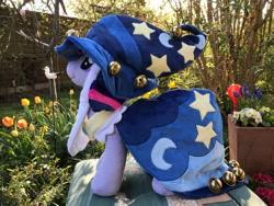 Size: 1280x960   Tagged: safe, artist:varonya, twilight sparkle, pony, clothes, irl, photo, plushie, solo, star swirl the bearded costume