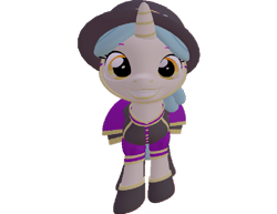 Size: 933x720 | Tagged: safe, artist:topsangtheman, pony, unicorn, 3d, clothes, grin, hat, looking at you, simple background, smiling, solo, source filmmaker, transparent background, uniform, unnamed character, unnamed pony