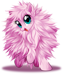 Size: 822x971 | Tagged: safe, artist:centchi, artist:kyubi, oc, oc only, oc:fluffle puff, pony, cute, flufflebetes, simple background, smiling, solo, transparent background