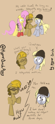 Size: 2221x5006 | Tagged: safe, artist:hyper dash, derpy hooves, doctor whooves, fluttershy, time turner, engineer, expiration date, medic, soldier, team fortress 2