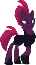 Size: 4318x7774   Tagged: safe, artist:wissle, fizzlepop berrytwist, tempest shadow, pony, unicorn, my little pony: the movie, absurd resolution, armor, broken horn, eye scar, female, hoof shoes, horn, mare, movie accurate, one hoof raised, raised hoof, scar, simple background, solo, transparent background, vector
