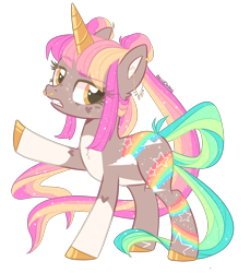 Size: 2456x2678 | Tagged: safe, artist:akiiichaos, oc, oc:diva, pony, unicorn, base used, colored horn, female, horn, mare, nose piercing, nose ring, piercing, simple background, solo, transparent background