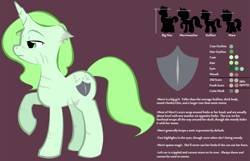 Size: 1280x824 | Tagged: safe, artist:askmerriweatherauthor, oc, oc:merriweather, pony, unicorn, ask merriweather, female, mare, reference sheet, scar, solo