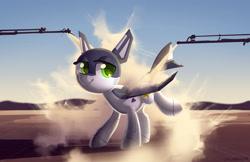 Size: 1855x1200 | Tagged: safe, artist:dawnfire, oc, oc only, oc:ruffle, original species, plane pony, pony, plane, solo
