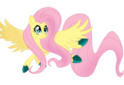 Size: 1280x878 | Tagged: safe, artist:tatianabeyzer, fluttershy, pony, colored hooves, simple background, solo, transparent background