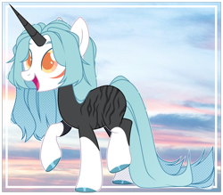Size: 5171x4536 | Tagged: safe, artist:rerorir, oc, pony, unicorn, absurd resolution, colored horn, female, horn, mare, solo