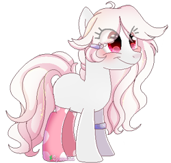 Size: 407x387 | Tagged: safe, artist:2pandita, oc, earth pony, pony, clothes, female, mare, pixel art, simple background, socks, solo, transparent background