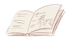 Size: 3504x2128 | Tagged: safe, artist:maxiima, rarity, pony, unicorn, book, doodle, fabulous, female, haycartes' method, mare, paper pony, simple background, solo, white background
