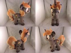 Size: 1597x1199   Tagged: safe, artist:little-broy-peep, oc, oc:nukey, pony, unicorn, female, irl, mare, photo, plushie, solo