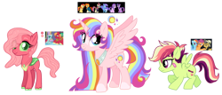 Size: 2320x996 | Tagged: safe, artist:unoriginai, big macintosh, daring do, moondancer, ocellus, rainbow dash, scootaloo, starlight glimmer, sunburst, sunset shimmer, trixie, twilight sparkle, oc, alicorn, changepony, hybrid, cute, interspecies offspring, magical lesbian spawn, magical threesome spawn, multiple parents, offspring, parent:big macintosh, parent:daring do, parent:moondancer, parent:ocellus, parent:rainbow dash, parent:scootaloo, parent:starlight glimmer, parent:sunburst, parent:sunset shimmer, parent:trixie, parent:twilight sparkle, parents:daringdashaloo, parents:ocellumac, parents:twisunstarburstrixdancer, simple background, transparent background, twilight sparkle (alicorn)