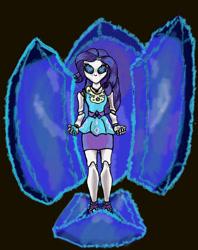 Size: 2164x2728 | Tagged: safe, artist:filomental, rarity, equestria girls, author:filomental, dark magic, fanfic art, magic, vengeance