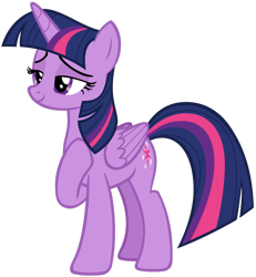 Size: 1280x1387 | Tagged: safe, artist:andoanimalia, twilight sparkle, alicorn, once upon a zeppelin, simple background, solo, transparent background, twilight sparkle (alicorn), vector