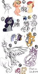 Size: 1024x1978 | Tagged: safe, artist:onedayhm, big macintosh, fluttershy, pinkie pie, twilight sparkle, oc, oc:cosmos, oc:evening majesty, oc:helios, oc:honeycrisp hiver, oc:plumeria, oc:radiant star, unnamed oc, alicorn, draconequus, earth pony, hybrid, pegasus, unicorn, alicorn oc, ancestor, beard, blushing, bust, draconequus oc, earth pony oc, facial hair, female, fluttermac, flutterpie, freckles, glowing eyes, heart, horn, interspecies offspring, lesbian, magical gay spawn, magical lesbian spawn, male, mare, offspring, older, older big macintosh, older fluttershy, older pinkie pie, parent:big macintosh, parent:discord, parent:fluttershy, parent:king sombra, parent:princess cadance, parent:princess celestia, parent:princess luna, parent:shining armor, parents:dislestia, parents:fluttermac, parents:lundance, parents:shiningsombra, pegasus oc, previous generation, sharp teeth, shipping, simple background, sketch, sketch dump, stallion, straight, teeth, twilight sparkle (alicorn), unicorn oc, white background, wings