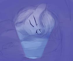 Size: 1362x1141 | Tagged: safe, artist:some_ponu, pony, cellphone, night, phone, sleeping, smartphone