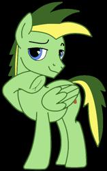 Size: 460x734 | Tagged: safe, artist:didgereethebrony, artist:teepew, oc, oc:didgeree, pegasus, pony, base used, frog (hoof), hoofbutt, simple background, solo, trace, transparent background, underhoof