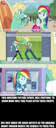 Size: 1920x4320 | Tagged: artist needed, source needed, safe, edit, edited edit, edited screencap, screencap, gladys, rainbow dash, zephyr breeze, human, blue crushed, equestria girls, equestria girls series, holidays unwrapped, overpowered (equestria girls), spoiler:eqg series (season 2), armband, arms, bare arms, beach, beach umbrella, beard, bedroom eyes, canterlot high, cap, caption, clothes, cloud, converse, cute, cutie mark, cutie mark clothes, dashabetes, dashing through the mall, day, dialogue, door, duo, exclamation point, eyebrows, eyelashes, facial hair, female, geode of super speed, gritted teeth, hat, high res, high school, hill, impact font, implied pregnancy, indoors, jacket, jewelry, leaning back, leggings, lockers, magical geodes, male, meme, midriff, necklace, nipples, nudity, ocean, outdoors, panic, panicking, pants, partial nudity, poster, potted plant, pregnant, question, question mark, sand, scared, scaredy dash, school, shadow, shipping, shipping fuel, shirt, shoes, sky, sneakers, sports bra, standing, straight, surfboard, sweatband, swimming cap, swimming trunks, symbol, t-shirt, talking, teeth, text, text edit, this will end in marriage, top, topless, traffic cone, umbrella, vest, wall of tags, wet, wristband, zephdash, zephyr's necklace