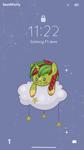 Size: 933x1659 | Tagged: safe, artist:deathpatty, oc, pony, unicorn, cloud, commission, solo, stars