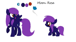 Size: 932x519 | Tagged: safe, artist:theponythatdraws, oc, oc:moon rose, pegasus, pegasus oc, reference sheet, wings