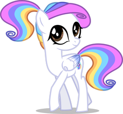 Size: 1280x1195 | Tagged: safe, artist:helenosprime, oc, oc:helenos, pegasus, pony, female, simple background, solo, teenager, transparent background