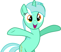 Size: 4380x3773 | Tagged: safe, artist:nero-narmeril, lyra heartstrings, pony, high res, simple background, solo, transparent background, vector
