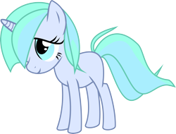 Size: 4001x3039 | Tagged: safe, artist:nero-narmeril, oc, oc:ocean blossom, pony, unicorn, female, simple background, solo, teenager, transparent background, vector