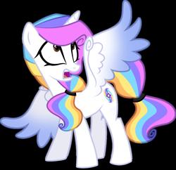Size: 1280x1240 | Tagged: safe, artist:helenosprime, oc, oc:helenos, alicorn, pony, female, mare, simple background, solo, transparent background