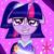 Size: 800x800 | Tagged: safe, artist:katya, twilight sparkle, alicorn, the last problem, clothes, coronation dress, dress, female, floppy ears, photo, second coronation dress, solo, twilight sparkle (alicorn)