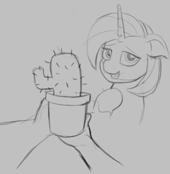 Size: 1052x1072 | Tagged: safe, artist:mkogwheel, stellar flare, human, pony, brony bash online, offscreen character, pov, sketch, sketches from a hat