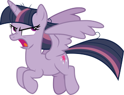 Size: 3907x3000 | Tagged: safe, artist:cloudyglow, artist:yanoda, mean twilight sparkle, pony, the mean 6, .ai available, angry, cute, cutie mark, female, flying, high res, madorable, mare, open mouth, simple background, solo, transparent background, vector