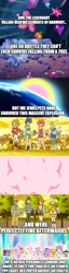 Size: 500x1962 | Tagged: safe, artist:mega-poneo, edit, edited screencap, screencap, cat, dog, pony, rabbit, the beginning of the end, animal, anime, broken, comic, dian, diana (jewelpet), element of generosity, element of honesty, element of kindness, element of laughter, element of loyalty, element of magic, elements of harmony, explosion, garnet (jewelpet), jewelpet, magic, mega poneo strikes again, op is a duck, op is trying to start shit, opal (jewelpet), rinko kougyoku, ruby (jewelpet), sanrio, sapphie, screencap comic, sega, shattered, tour (jewelpet)