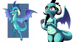 Size: 1920x1080 | Tagged: safe, artist:ahobobo, princess ember, dragon, chubby, female, who is the best?!
