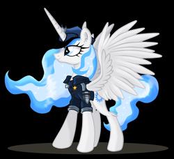 Size: 1686x1536   Tagged: safe, artist:ruhisu, oc, oc only, oc:white flare, alicorn, pony, simple background, solo, transparent background