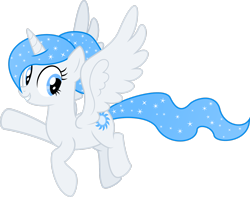 Size: 2756x2176 | Tagged: safe, artist:masem, oc, oc only, oc:white flare, alicorn, pony, horn, looking at you, simple background, solo, transparent background, wings