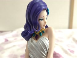 Size: 4032x3024 | Tagged: safe, kotobukiya, rarity, human, pony, equestria girls, backless, bare shoulders, beautiful, clothes, figure, human ponidox, humanized, jewelry, kotobukiya rarity, moe, self ponidox, sleeveless, strapless