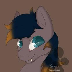 Size: 499x499   Tagged: safe, artist:grimez, oc, oc only, oc:black night, bat pony