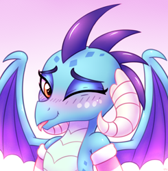 Size: 2500x2550 | Tagged: safe, artist:heavymetalbronyyeah, princess ember, dragon, beautiful, blushing, clothes, cute, dragoness, emberbetes, female, socks, solo, striped socks, tongue out, weapons-grade cute