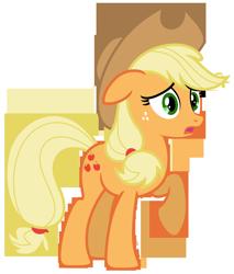 Size: 5563x6533 | Tagged: safe, artist:estories, applejack, pony, absurd resolution, simple background, solo, transparent background, vector