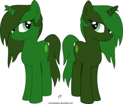 Size: 3004x2532 | Tagged: safe, artist:neronemesis1, oc, oc:gestalt, oc:mosaic, pony, unicorn, fallout equestria, female, siblings, simple background, sisters, transparent background, twins