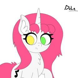 Size: 1080x1080 | Tagged: safe, oc, oc only, oc:half note, unicorn, female, mare