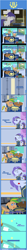 Size: 1205x11171 | Tagged: safe, artist:estories, oc, oc:spring dawn, oc:viol strings, pegasus, pony, unicorn, comic:stable 33, fallout equestria, clothes, crying, female, implied death, mare, pointy ponies, vault suit