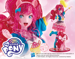 Size: 765x600 | Tagged: safe, kotobukiya, pinkie pie, earth pony, human, pony, equestria girls, human ponidox, humanized, pony coloring, self ponidox